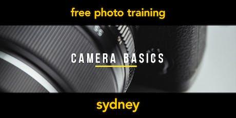 Camera Basics | Sydney | Beginner tickets