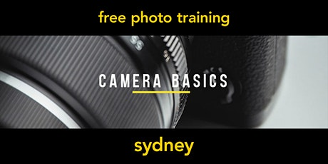 Camera Basics | Sydney | Beginner tickets