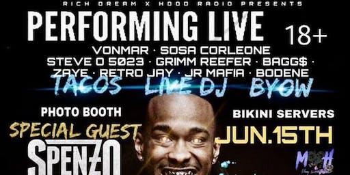 Summer showdown Spenzo -Almight deejay live in concert