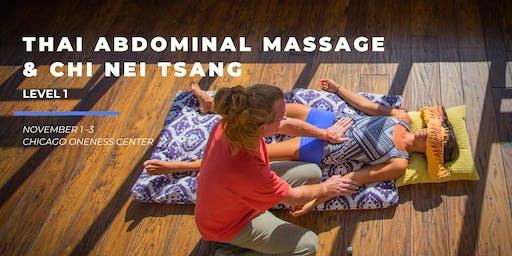 Thai Abdominal Massage & Chi Nei Tsang - Level 1