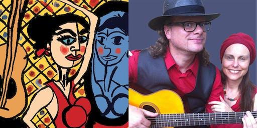 Espana El Vito The Spirit of Spain, Guitarist Matthew Fagan & guest singer