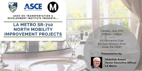 T&DI June 2019 Luncheon - 710 North Mobility Improvement Projects tickets