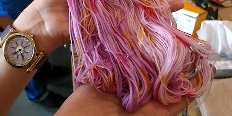 Yarn Dyeing: Hand-Painting with Acid Dyes tickets
