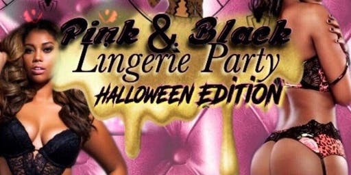 Pink & Black Lingerie Party Halloween Edition