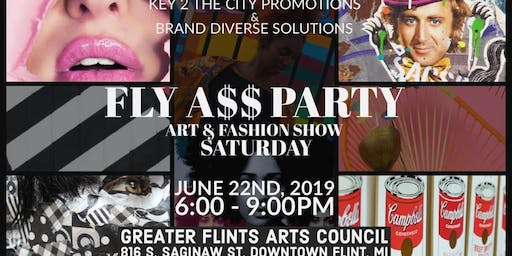 FLY A$$ PARTY: Art & Fashion Show