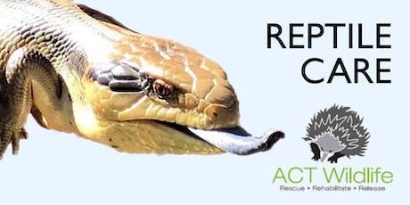 Reptile Care tickets