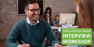 Interview Workshops @ Marlborough Works Job Fair