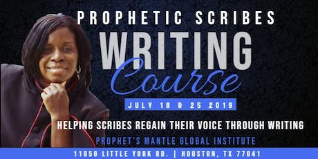 Prophetic Scribes Writing Course tickets