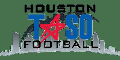 Houston TASO Football New Members Training Session 3 tickets