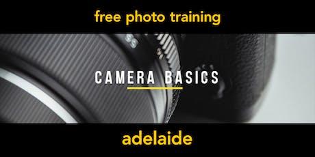 Camera Basics | Adelaide | Beginner tickets