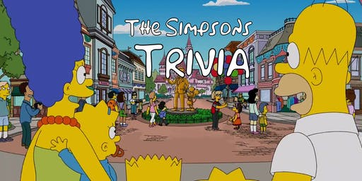 THE SIMPSONS trivia at THE CHEEKY [THURSDAY]