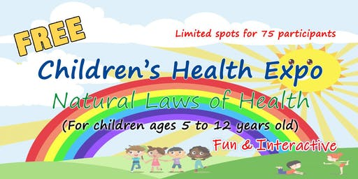 Free Children's Health Expo for Children Ages 5 to 12 Years Old
