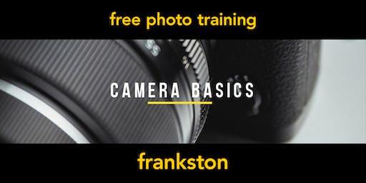 Camera Basics | Frankston | Beginner