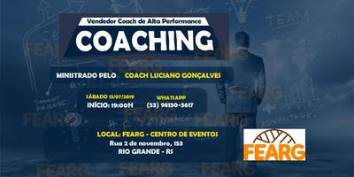 """Palestra: """"Seja Um Vendedor Coaching De Alta Performance""""."""
