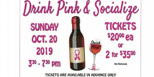 2nd Annual Drink Pink & Socialize