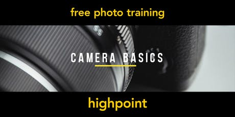 Camera Basics | Highpoint | Beginner tickets