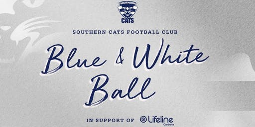 Blue & White Ball in Support of Lifeline Canberra