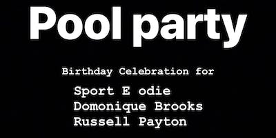2nd Annual VIP Pool Party (I know you remember last year)