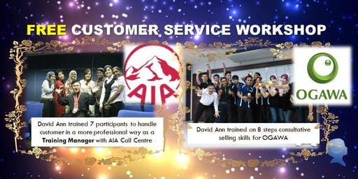 FREE Excellent Customer Service Workshop (Last 5 tickets)
