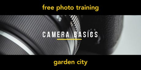 Camera Basics | Garden City | Beginner tickets