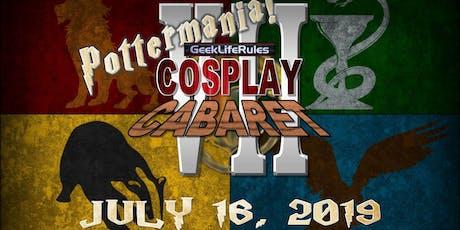 GeekLifeRules: NY Cosplay Cabaret VII - POTTERMANIA! tickets