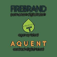Firebrand, Vitamin T & Aquent logo