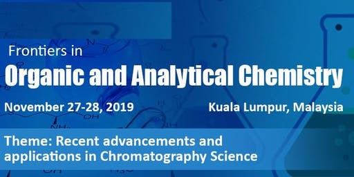 Frontiers in Organic and Analytical Chemistry