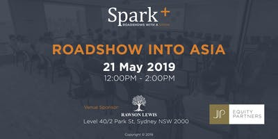 Roadshow Into Asia by Spark Plus