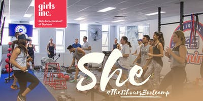 SHE #12HourBootCamp (Charity Bootcamp Sponsoring Girls Inc. hosted by F45)