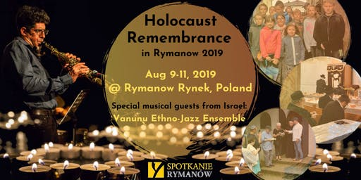 Holocaust Remembrance in Rymanow 2019