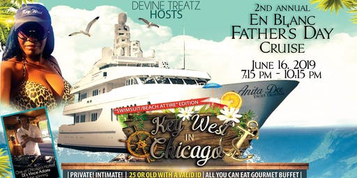 "VIP En Blanc Fathers Day Cruise ""Swimsuit/Beach attire Edition"