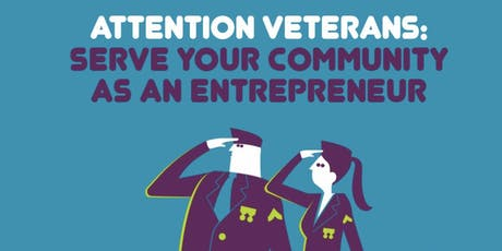 Veterans and Entrepreneurship  tickets
