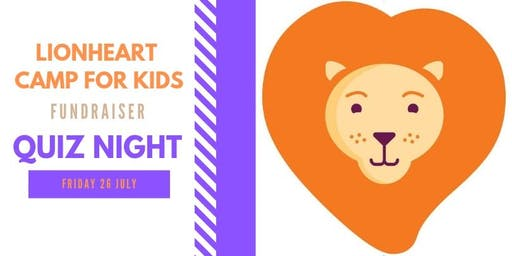 Quiz Night - Fundraiser for Lionheart Camp for Kids