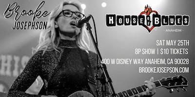 Pop-Rock Singer-Songwriter Brooke Josephson Performs Live on 5/25