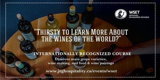WSET Level 1 Award in Wines at Glass House Estate Winery