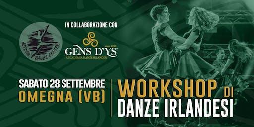 Omegna (VB) - Workshop di danze Irlandesi