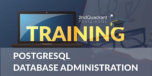 2ndQuadrant PostgreSQL Database Administration Training - London, UK