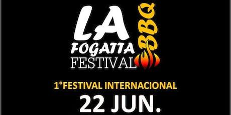 La Fogatta Festival BBq | 1° Festival Internacional ingressos
