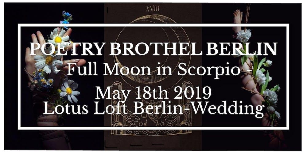 Poetry Brothel Berlin - Spring Edition 2019