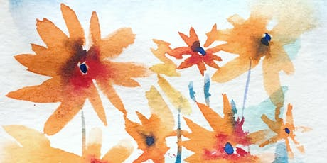 Watercolour Spring Flowers tickets