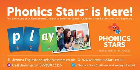 Phonics Stars Launch Party tickets