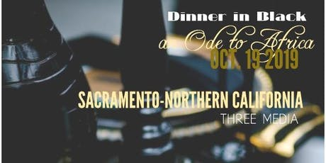 Dinner in Black an Ode to Africa tickets