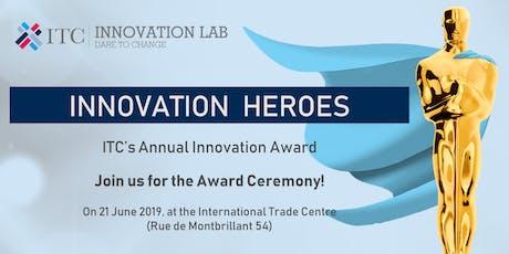 ITC Innovation Heroes 2019 billets