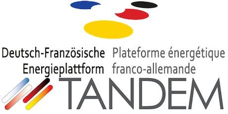 """Voyage d'étude franco-allemand """"Rénovation des bâtiments"""", juin 2019   Deutsch-Französische Studienreise """"Gebäudesanierung"""", Juni 2019 tickets"""