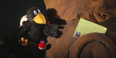 Puppentheater Drehwurm: Der kleine Rabe Socke
