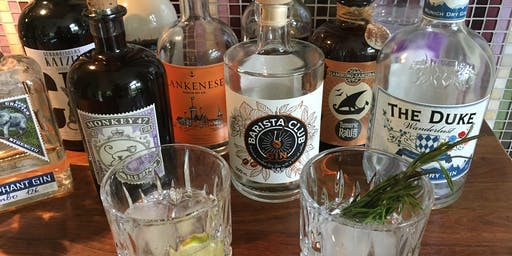 "Gin-Tasting ""With a little Hint of...""- London Dry Gins aus Deutschland"