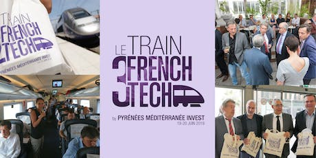 "Le ""Train French Tech 2019"" -  Soirée de networking à Madrid tickets"