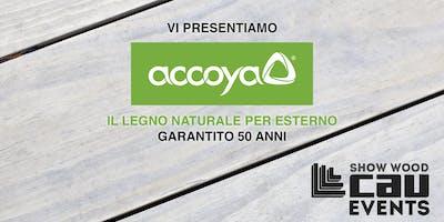 """Vi presentiamo Accoya®"""" il legno del futuro garantito 50 anni"""