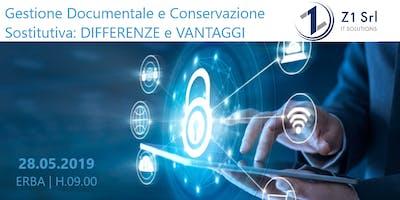 Gestione Documentale e Conservazione Sostitutiva: DIFFERENZE E VANTAGGI