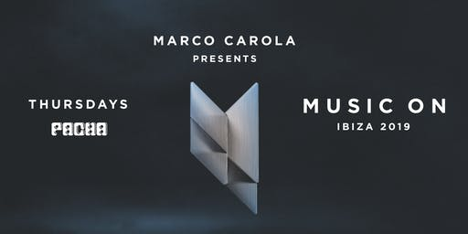 MUSIC ON · Marco Carola, Paco Osuna, Caleb Calloway